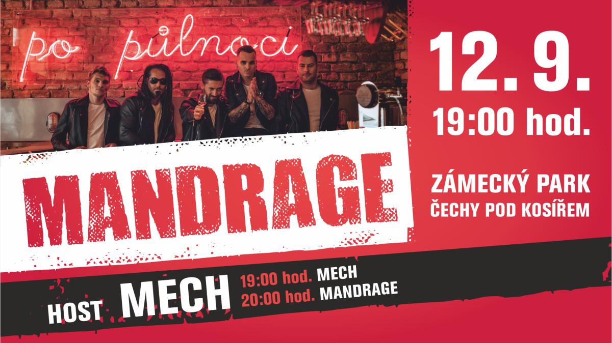 Koncert Mandrage