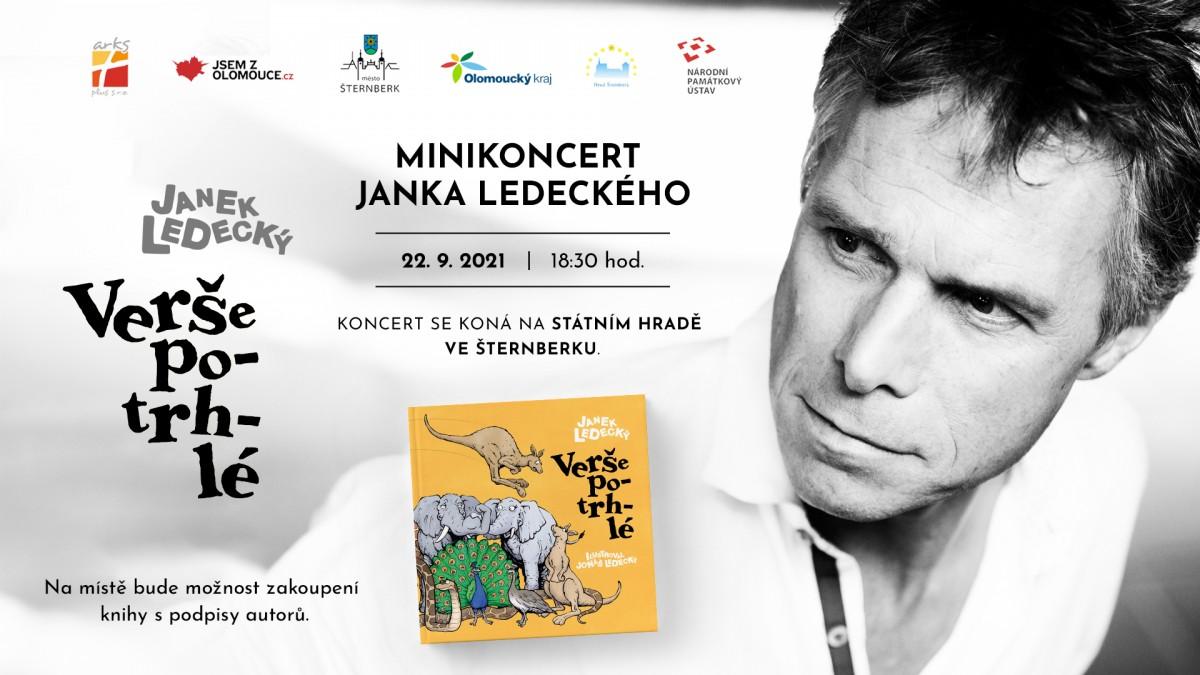 """Mini koncert"" Janka Ledeckého"